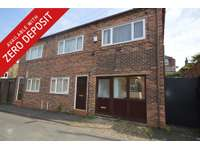 Studio flat to rent in Clarence Street, Newcastle-Under-Lyme