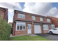 3 bedroom semi-detached house to rent in Hambleton Avenue, Redcar